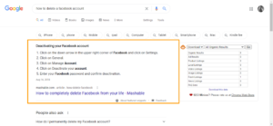 how-to-delete-a-facebook-account-Google-Search