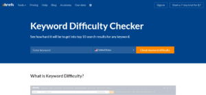 difficulty checker